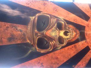 True fire skull Kamikaz