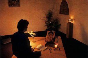 Prière et silence.