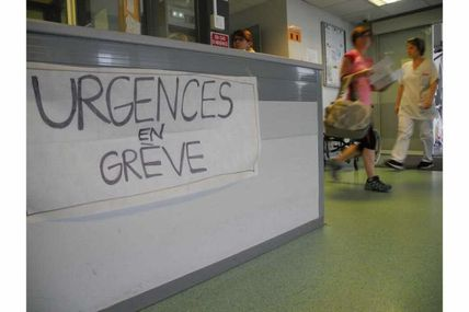 Plus de 200 services d'urgence en grève !