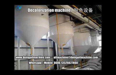 20-50tpd big capacity semi-continuous soybean oil refining machine