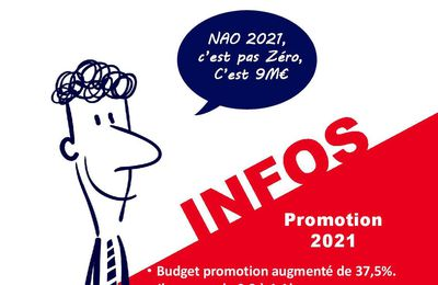 NAO 2021 : Promotion Plus 9 millions !