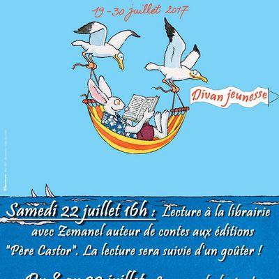 """""""Partir en livre"""" au divan jeunesse !"""