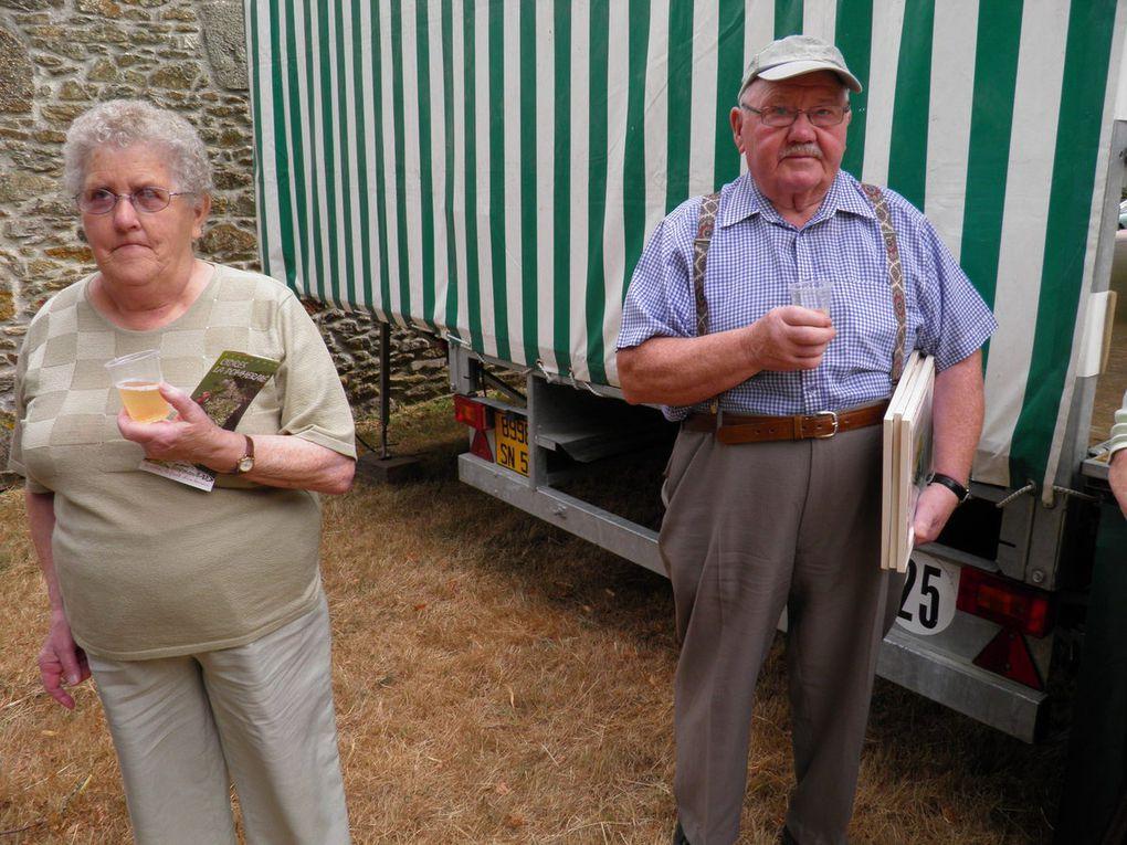 La remise des prix du 24 juillet 2010 avec la présence des membres de la Bolée de Concise de Saint-Berthevin.