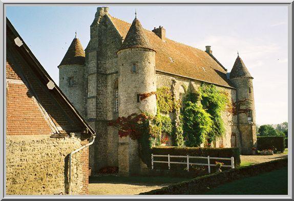 Diaporama château de BEUVREUIL à Dampierre en Bray