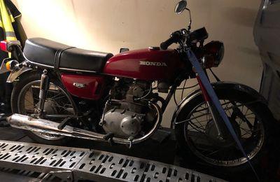 Honda Cb 125 K5 du 40