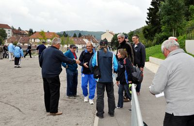 Championnat de Moselle de pétanque à Algrange en 2014