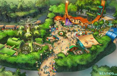 Toy Story Playland: les coulisses du chantier