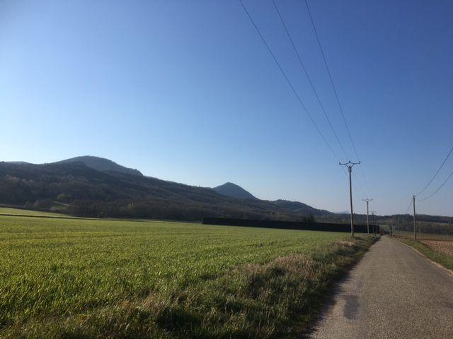 Route de La Raye, vers Ourches