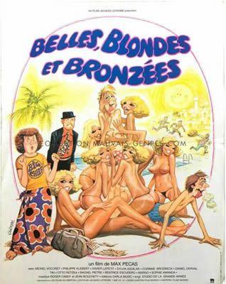 Belles, blondes et bronzées de Max Pécas
