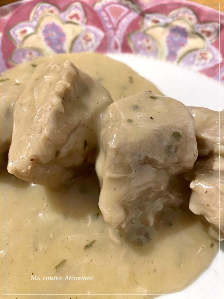 Mijoté de veau aux champignons avec cookeasy