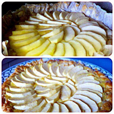 ❥ Tarte aux pommes 🍎