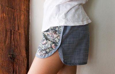 Tuto couture : réaliser un short femme ou enfant , facile à suivre avec son pas à pas en images !