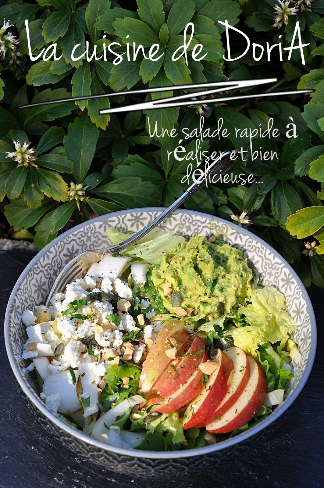 Salade fraîcheur et légère