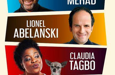 """""""Amis"""", pièce avec Kad Kad Merad, Lionel Abelanski et Claudia Tagno ce soir en live stream sur myCANAL"""