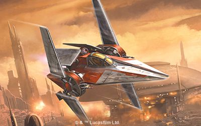 Preview : Stay Sharp (Nimbus-class V-Wing)