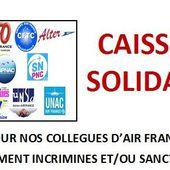 Le Pot Commun.fr : CAISSE DE SOLIDARITE POUR NOS COLLEGUES D'AIR FRANCE