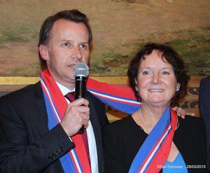 Elections départementales. Canton de Charenton-le-Pont, Joinville-le-Pont, Saint-Maurice et une partie de Nogent-sur-Marne: Belle victoire pour la droite unie (UMP-Centre).