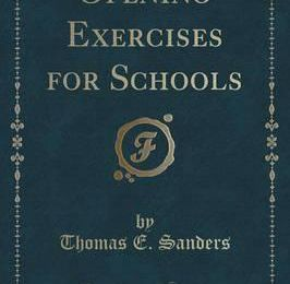 Opening Exercises for Schools (Classic Reprint)
