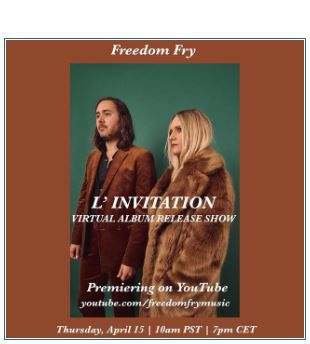 💿 FREEDOM FRY • L'INVITATION