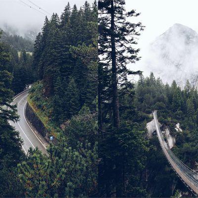trip road via la Suisse
