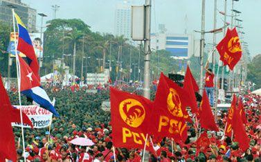 Le PCV répond positivement au «Pôle patriotique» proposé par Chavez dans le cadre de l'approfondissement de la Révolution bolivarienne