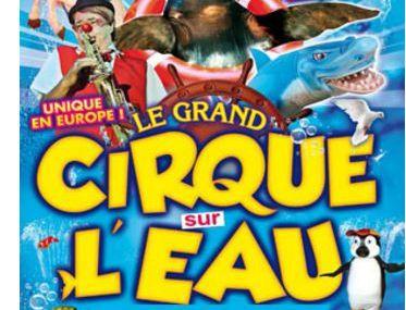 Le cirque de l'eau à Metz du 12 au 14 février 2016.