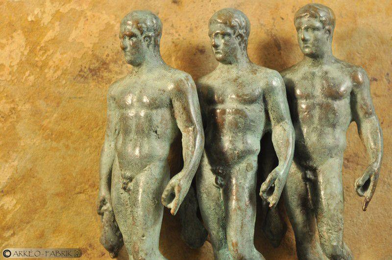 Série de Mercures de Sanxay (86) après la toilette.