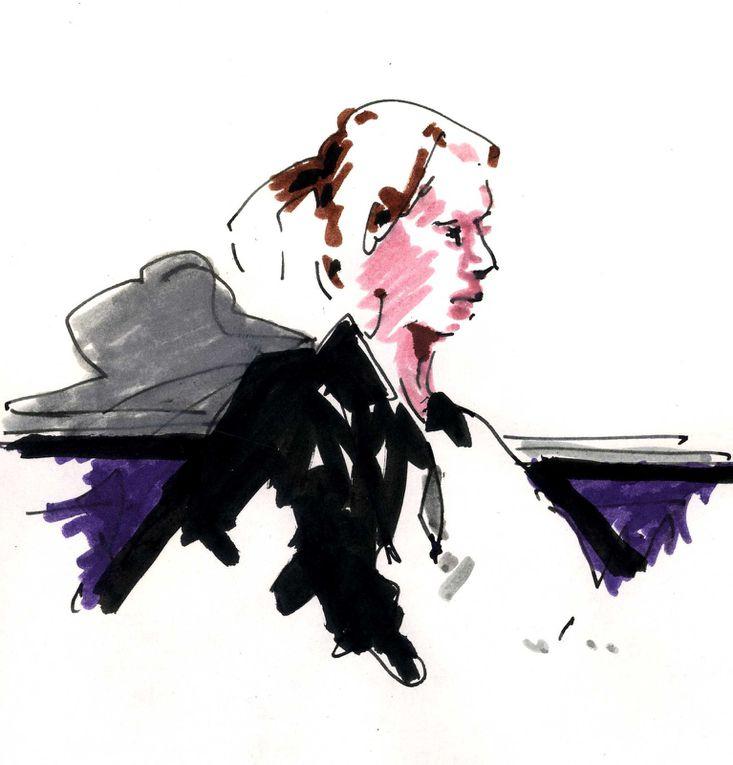 Montmartre des Blogueuses, le 29 mars 2011, au Just Be, rue de Caulaincourt, Paris 18e. Invitée : Claudine Monteil