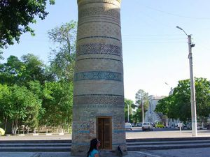 Mosquée Bolo Haouz a Boukhara