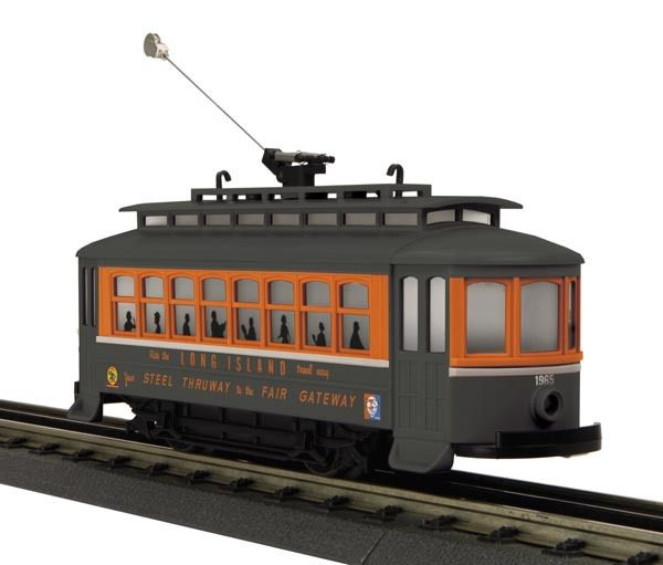 Spotlight sur le Trolley Long Island Bump-n-Go Exclusivité TRAINWORLD