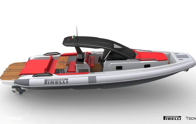 Semi-rigides - Premières images du nouveau Pirelli 35
