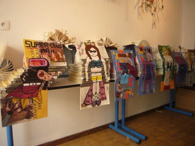 Exposition des œuvres réalisées par des élèves du collège George Ville. Voir détails dans programme de mai 2012.