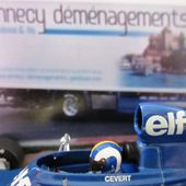 TYRRELL - FORD 006 FRANCOIS CEVERT 1973 MINICHAMPS 1/43 - car-collector.net