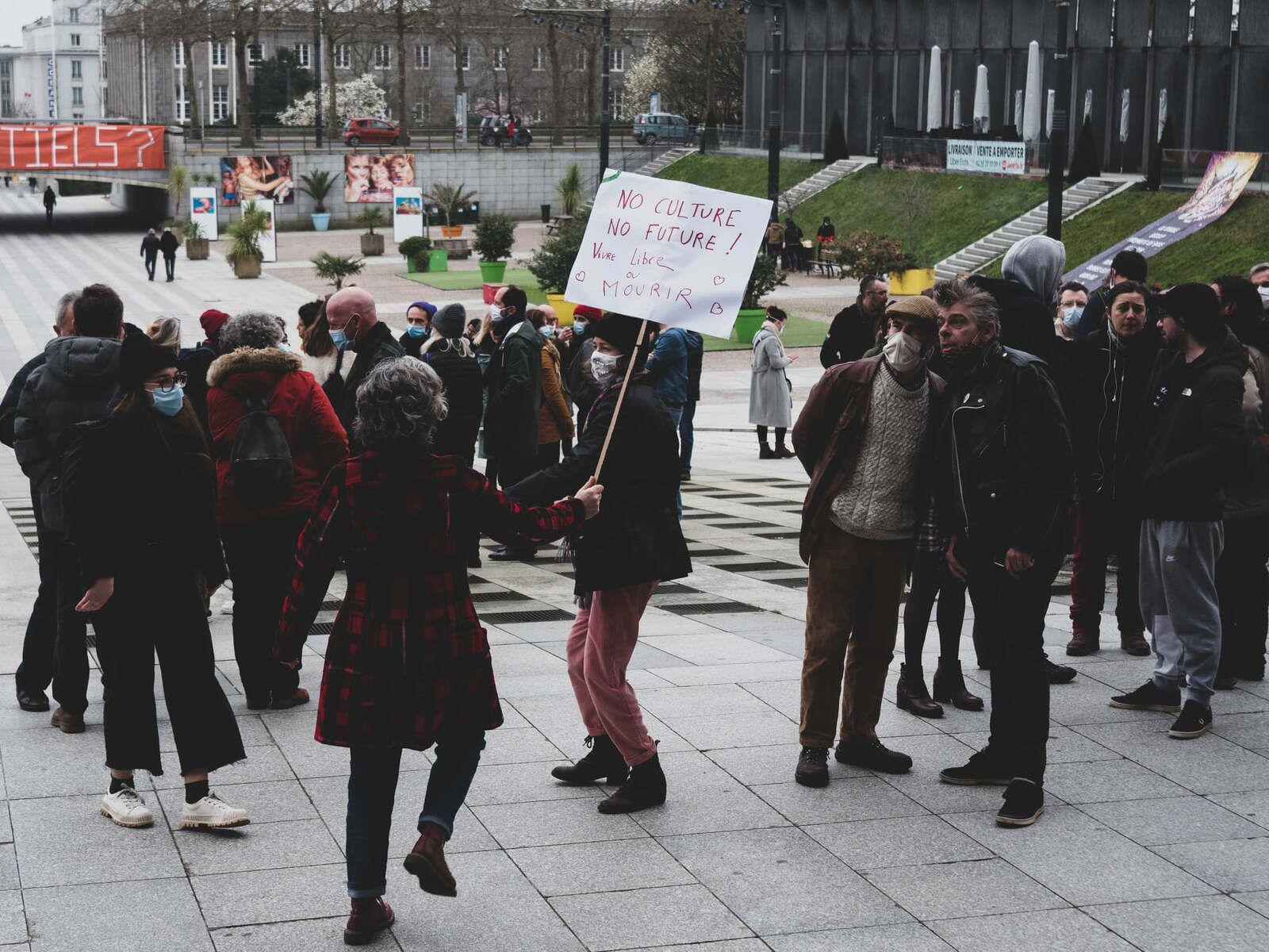 Rassemblement pour la culture et le spectacle vivant à Brest - 4 mars