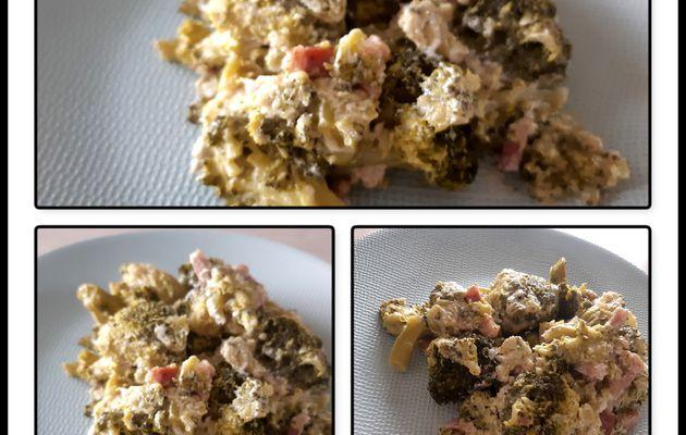 Brocolis crème et lardon