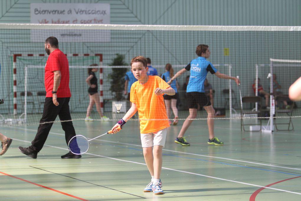 Le Badminton Vénissieux Sud- Est a organisé son secont tournoi jeunes cette fin de semaine