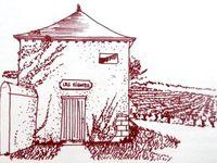 Petites maisons de vigne, Vallée de la Loire, Dessins France Poulain