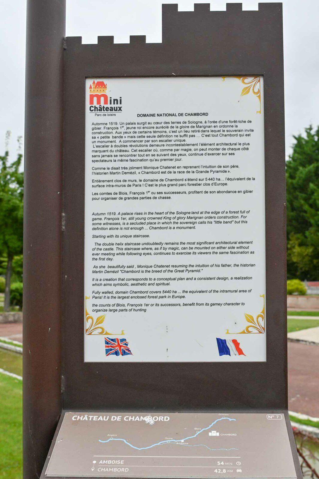 Parc des Mini-Châteaux de la Loire