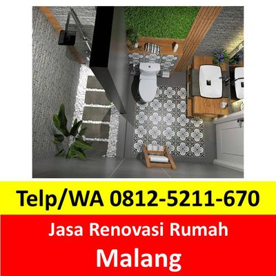 Telp 0812-5211-670, Jasa Renovasi Rumah Malang