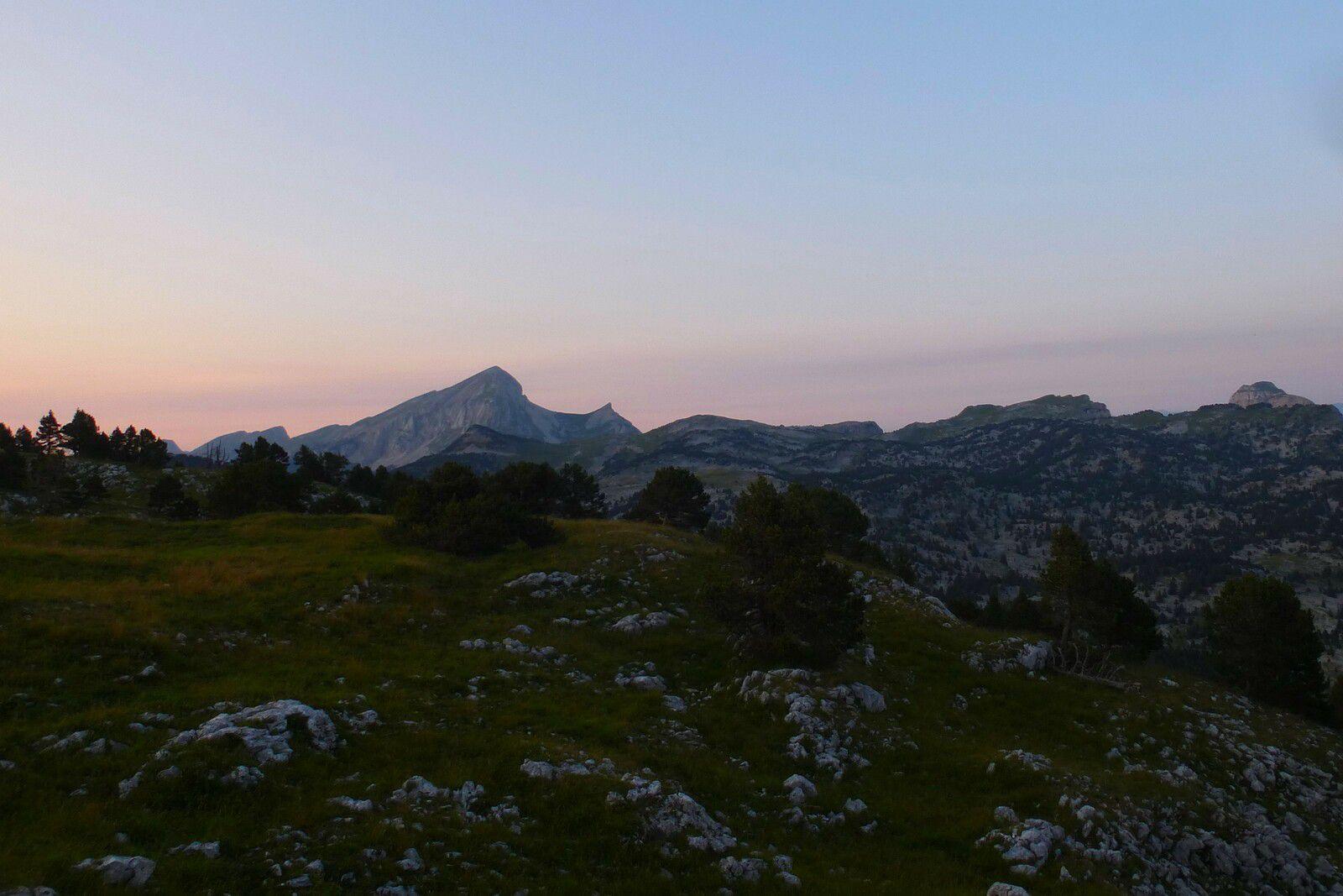 2 Jours sur les Hauts Plateaux : J1 Bivouac à Tourte Barreaux