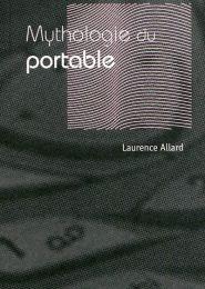 MYTHOLOGIE DU PORTABLE Le nouvel engouement des téléphones mobiles vintage par Laurence ALLARD