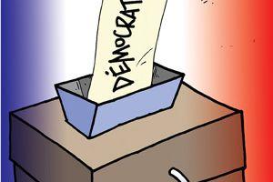 Elections cantonales : la démocratie aux oubliettes ?!