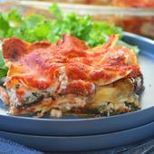 Lasagnes tomates, aubergines, épinards et ricotta {végétarien} - Le blog de C'est Nathalie qui cuisine