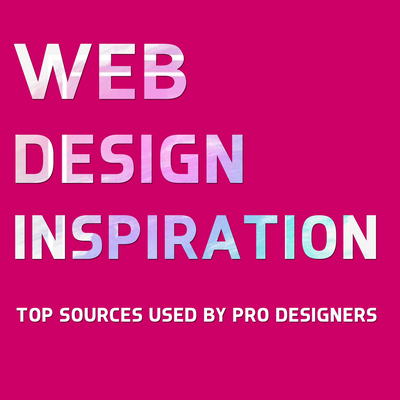 Web design inspiration: Top sources used by pro designers