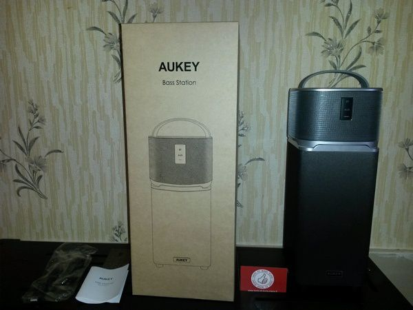 Test : Enceinte Bluetooth Bass Station 25W AUKEY SK-M39