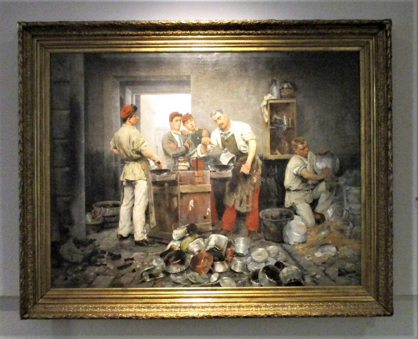 Le Rétamage - Marius Roy, 1884