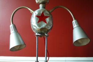 la lampe robot Gourdinski