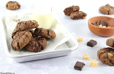 Cookies Chocolat Gingembre Confit
