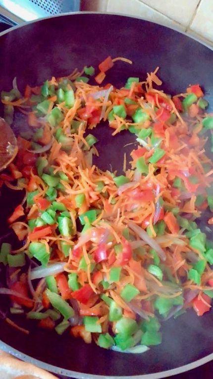 Buns farcis aux légumes, kefta et mozzarella