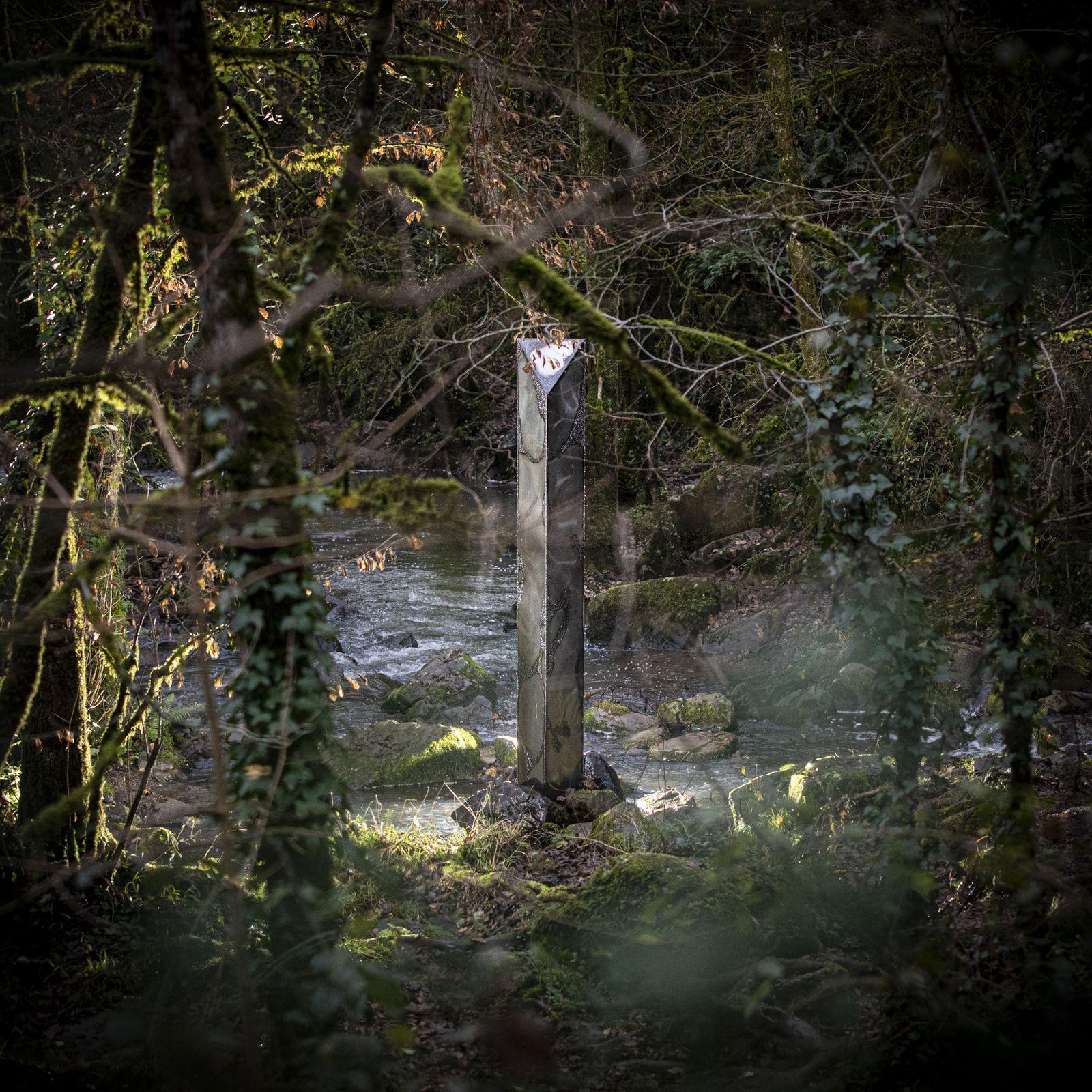 Un monolithe a été trouvé sur la commune d'Exireuil, dans les Deux-Sèvres